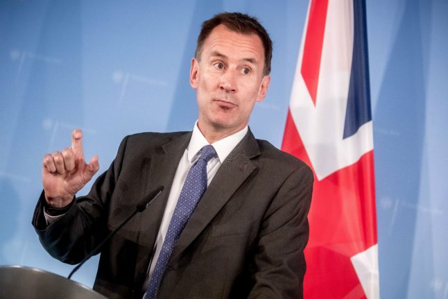 Hunt warns no Brexit deal could harm German ties for 'a generation'
