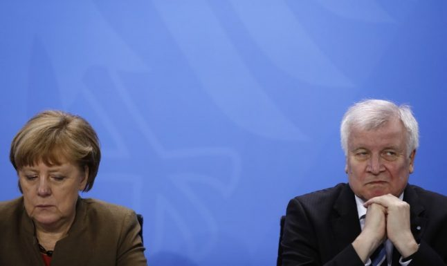 German interior minister unhappy with Merkel's EU migration deal