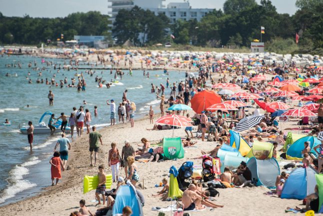German heat record of the year expected Friday