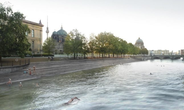 The ambitious plan to turn Berlin's central canal into a giant swimming pool