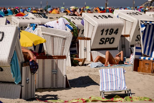 Temperatures in Germany to reach up to 36 degrees Wednesday