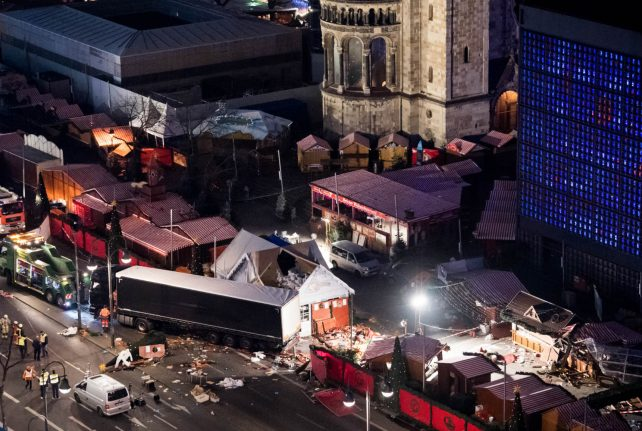 Germany seeks arrest of alleged accomplice in Christmas market attack