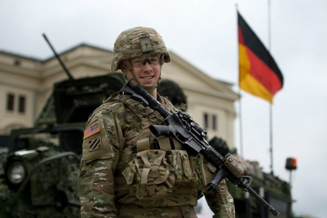 Almost half of Germans want US army to leave the country