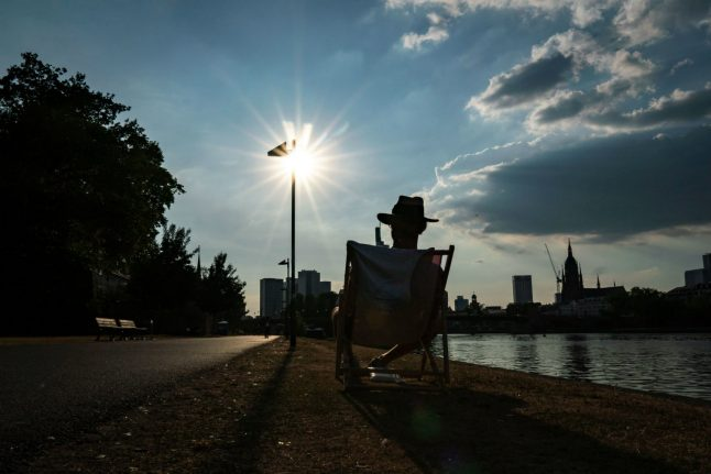 Heatwave hits Germany, and it's only getting warmer
