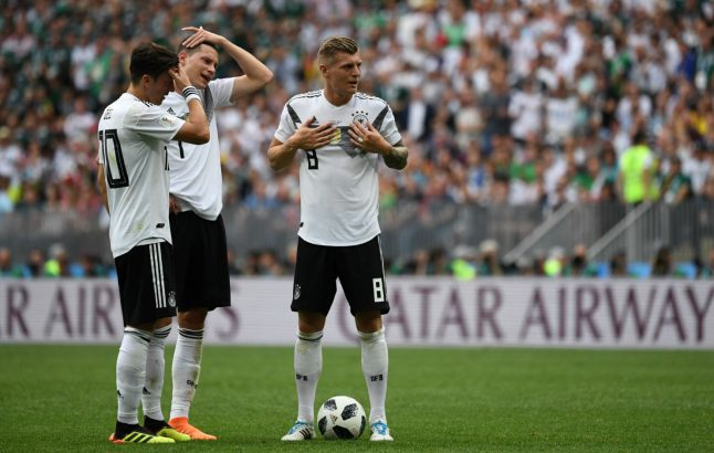 """Özil """"out of order"""" to make racism accusations, says Kroos"""
