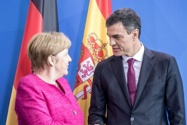 Germany reaches agreement with Spain over returning migrants