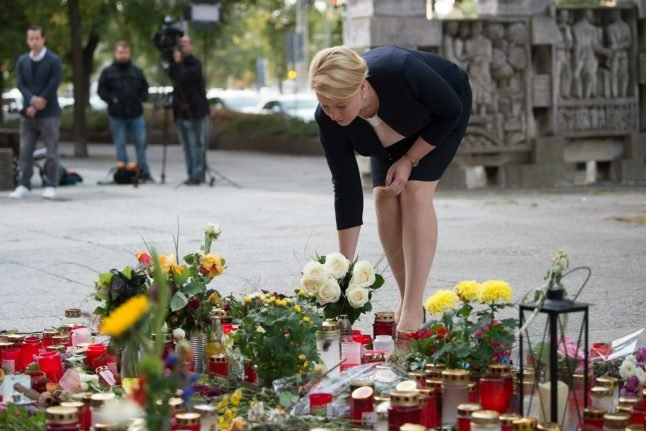 Families Minister becomes first government official to visit site of Chemnitz stabbing