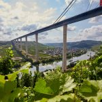 Construction of mega-bridge in Moselle valley nears completion