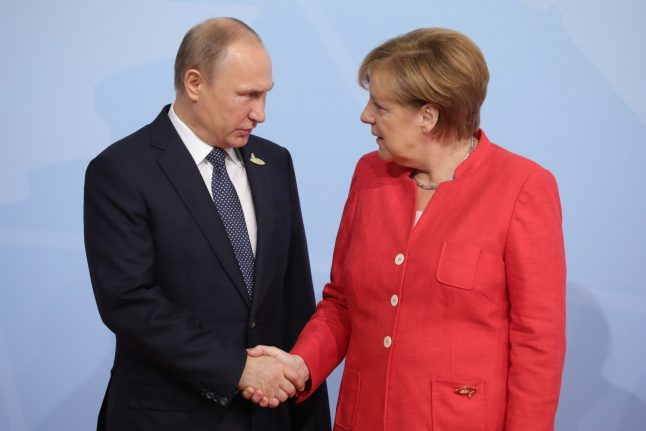 What you need to know about Chancellor Merkel's meeting with President Putin