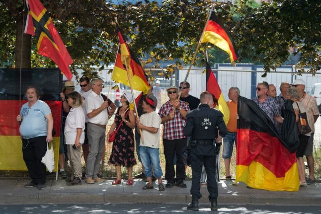 Police and Pegida: the scandal brewing over press freedom in Saxony