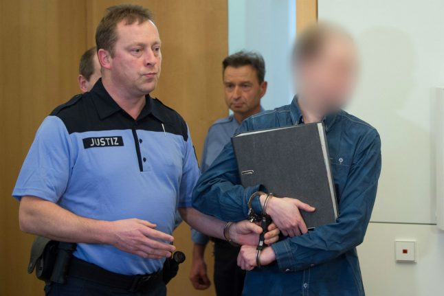 10 year sentence given to man who bombed Dresden mosque