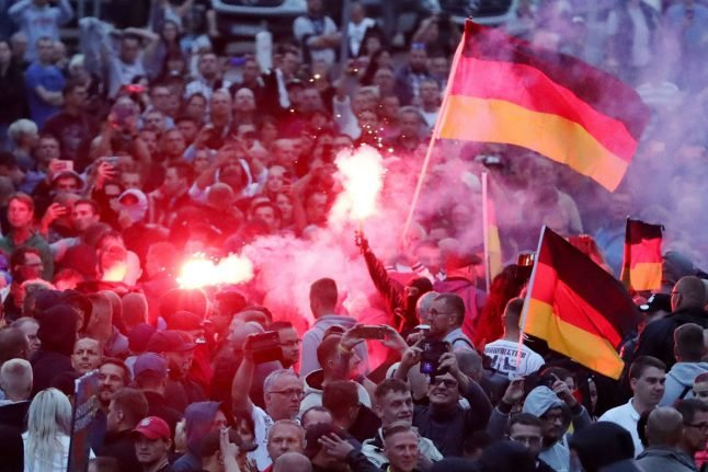 Second day of unrest in Chemnitz after deadly knife attack
