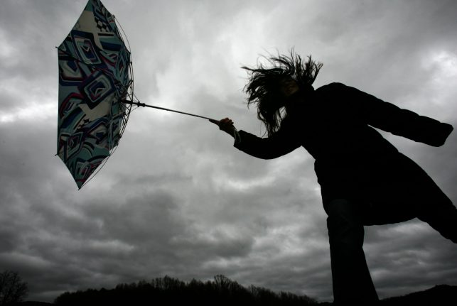 High winds and storms expected to put an end to summer
