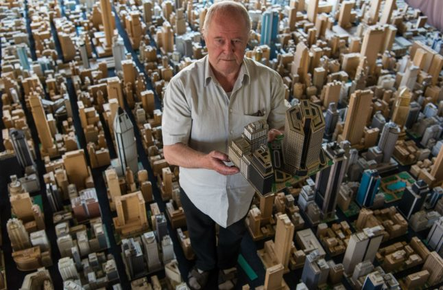 House of Cardboard: How a German pensioner built a mini metropolis over 65 years