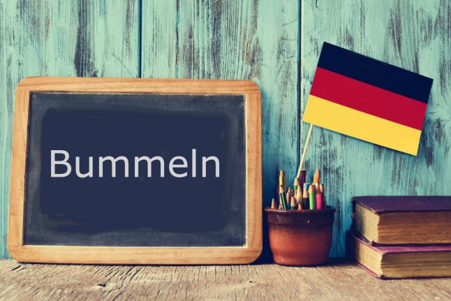 German Word of the Day: Bummeln