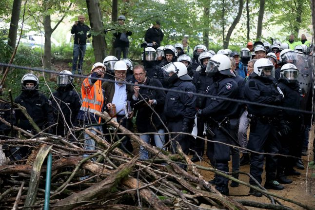 German forest activists brace for eviction in anti-coal fight