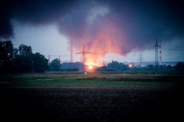 Eight injured in blast and ensuing blaze at German refinery