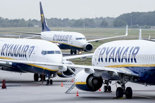 Update: Almost 40 percent of Ryanair flights in Germany cancelled