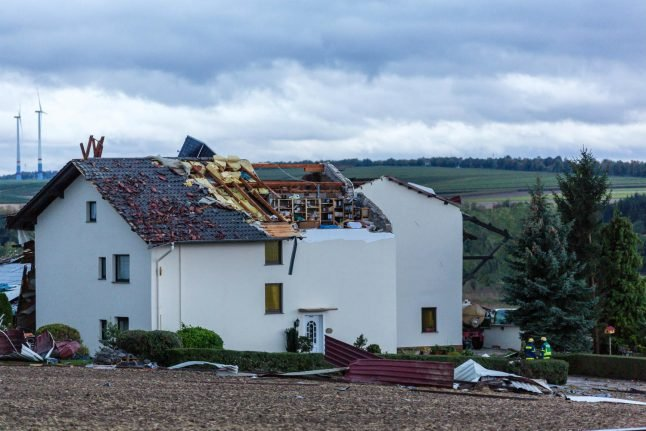 Clean-up underway after deadly storm 'Fabienne' causes havoc across Germany