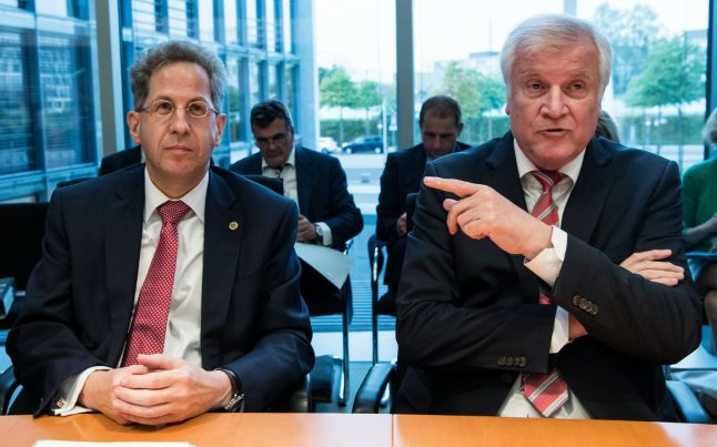 Maaßen to be in charge of internal security while top spy job remains open