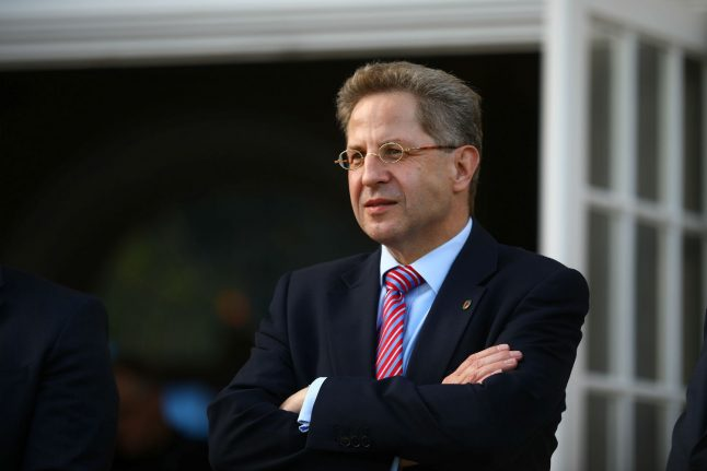 German spy chief Maaßen removed from his post