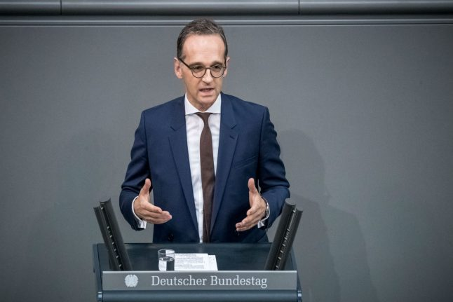 Germany says ready to contribute to Syria rebuilding