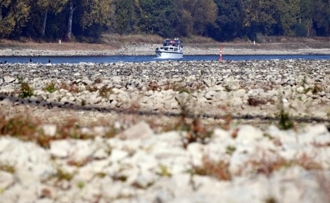Water woes as drought leaves Germany's Rhine shallow