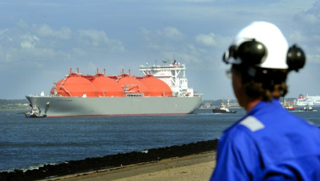After US pressure, Berlin mulls natural gas project