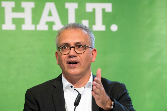 Hesse's Green party candidate Tarek Al-Wazir could become minister president