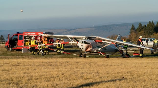 Three killed as light aircraft hits onlookers in Germany