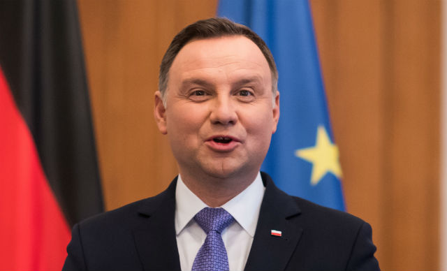 Polish president demands war reparations from Germany