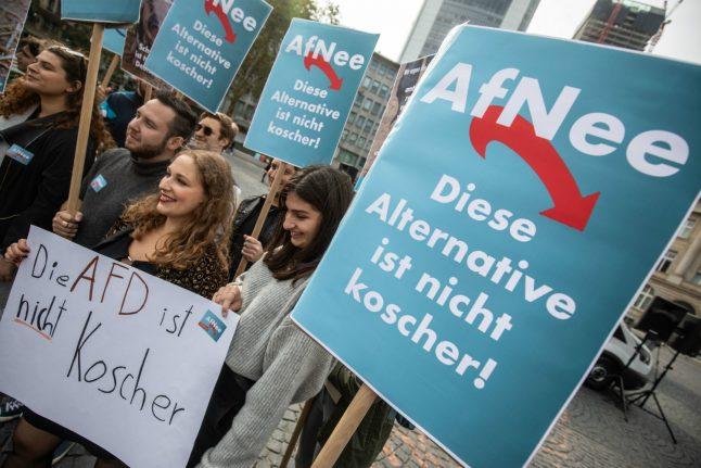 Backlash from Germany's Jewish community over new AfD group