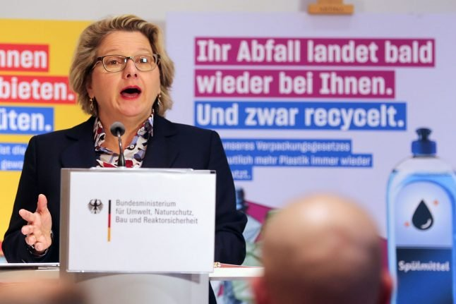 How Germany's environment minister plans to turn around plastic use