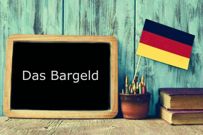 German word of the day: Das Bargeld
