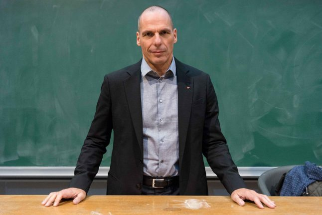 Greece's former finance minister to stand for election in Germany