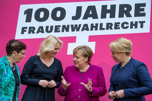 Angela Merkel refuses to be 'excuse' for lack of female politicians
