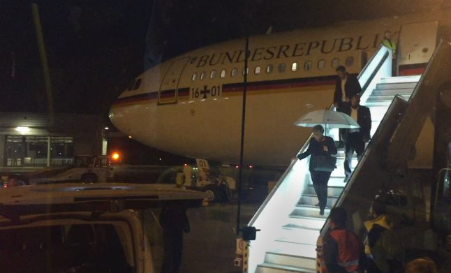 Bumpy start to G20 summit for Merkel after plane is forced to make emergency landing