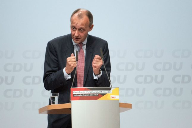 'There is no Sharia law on German soil': CDU candidate Merz