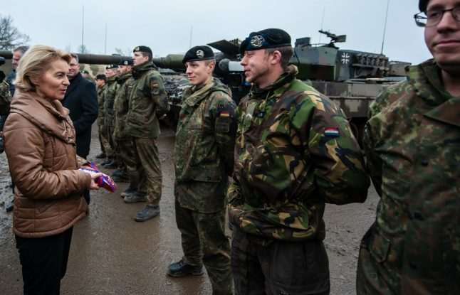 German military looks to recruit in other EU nations