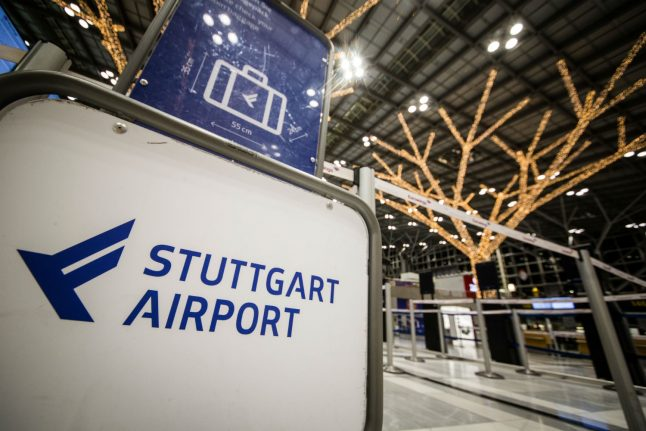 Security reinforced at airports in western Germany: police