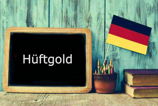 German word of the day: Das Hüftgold