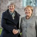 'No way to change' Brexit deal, says Merkel after May visit