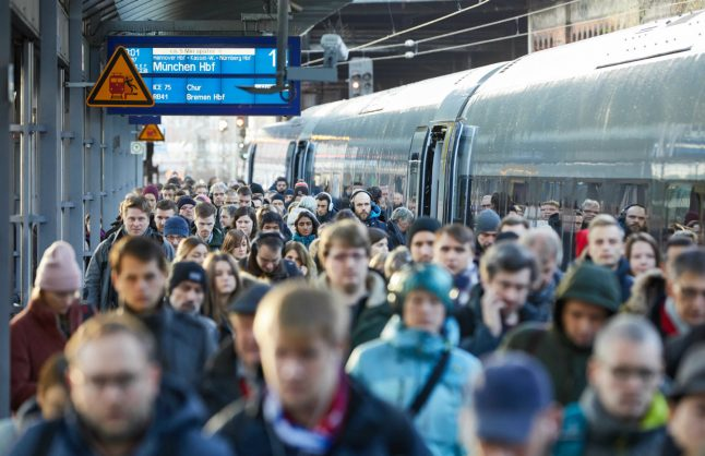 Update: Rail strike causes chaos throughout Germany