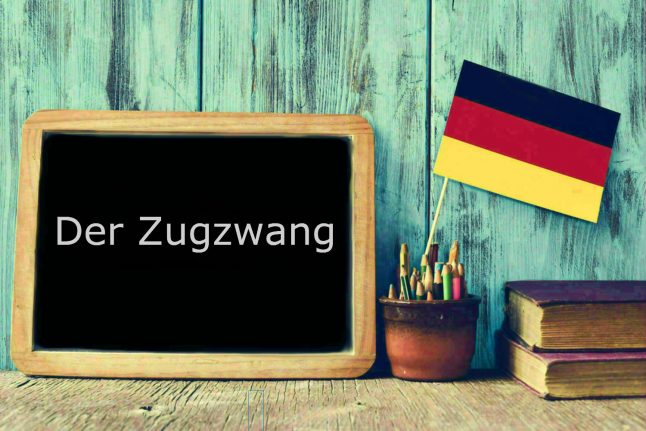 German word of the day: Der Zugzwang
