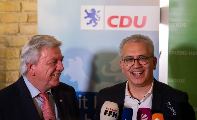 How the unlikely team of CDU and Greens have reunited in Hesse
