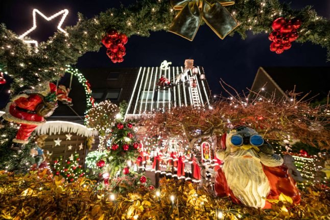 Turn on the bright lights: Christmas houses shine throughout Germany