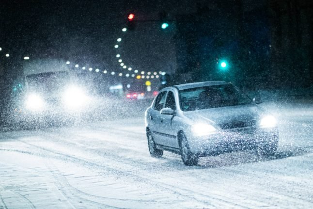 Icy roads and low temperatures cause disruption across Germany