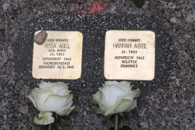Artist behind Germany's Stolpersteine: 'They're needed now more than ever'