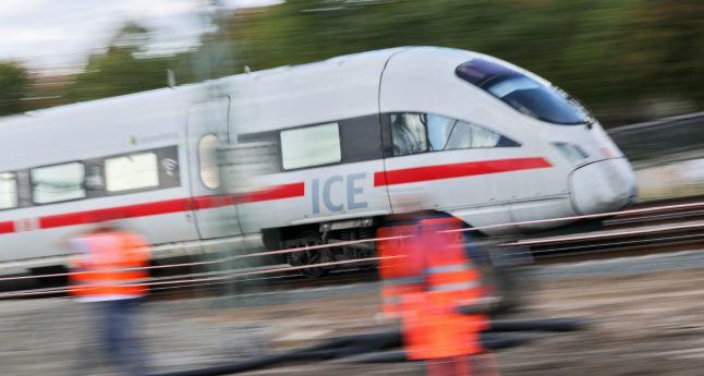 Drunk high speed train driver heavily over the limit misses stop at Wittenberg