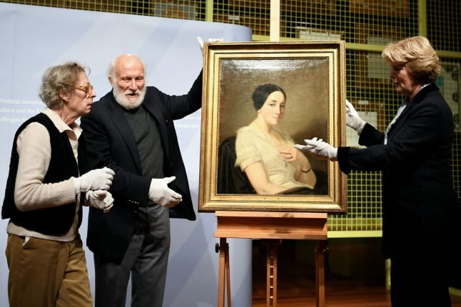 Germany returns Nazi-looted painting to French Jewish collector's heirs